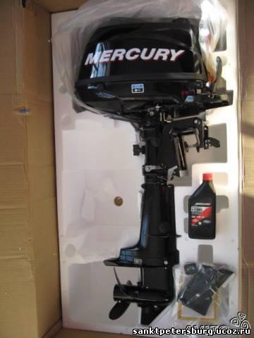 лодочный мотор меркурий 5 л.с 4такта купить в москве